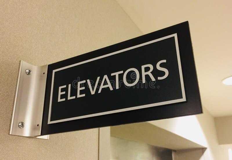 elevadores fotografia de stock