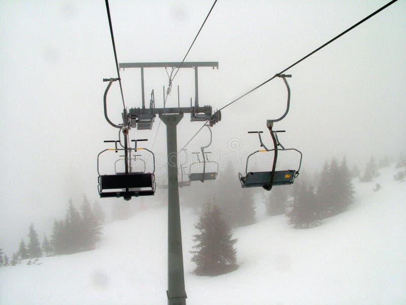 Elevadores de esqui imagens de stock royalty free