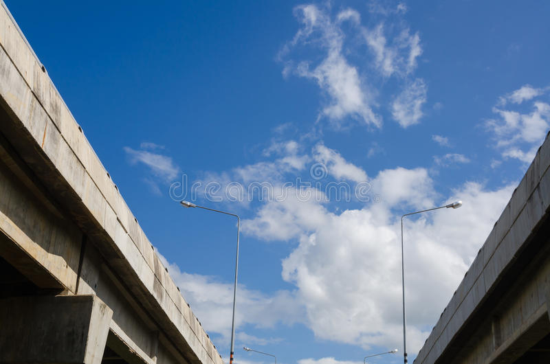 Download Elevated express way stock image. Image of architecture - 25810123