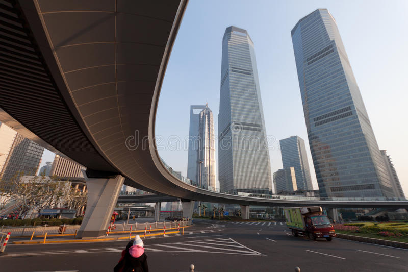 Download Elevated Expressway In City Stock Photo - Image: 22477900