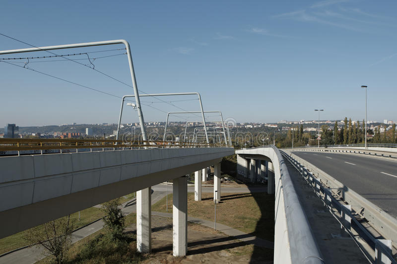 Download Elevated Road Royalty Free Stock Images - Image: 21787669