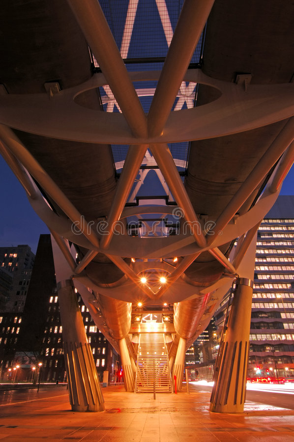 Free Elevated Tram Structure Stock Image - 4311781
