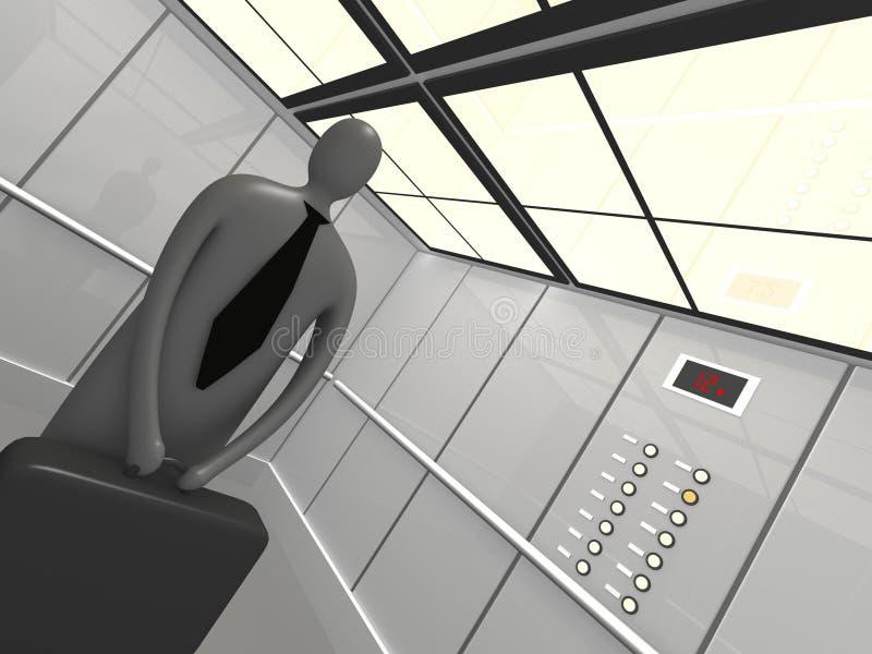 Elevator royalty free illustration