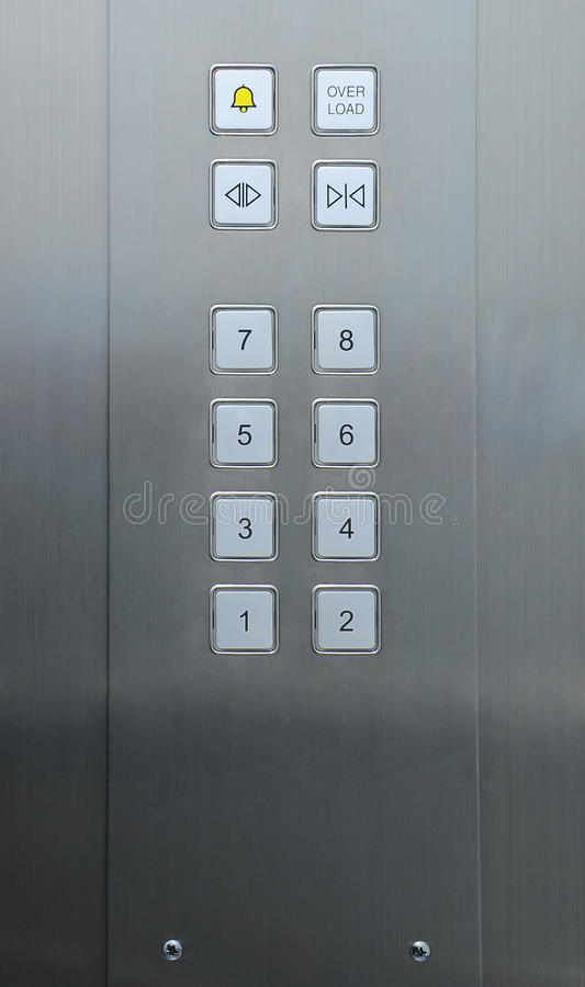 Free Elevator Buttons Royalty Free Stock Photography - 18857157