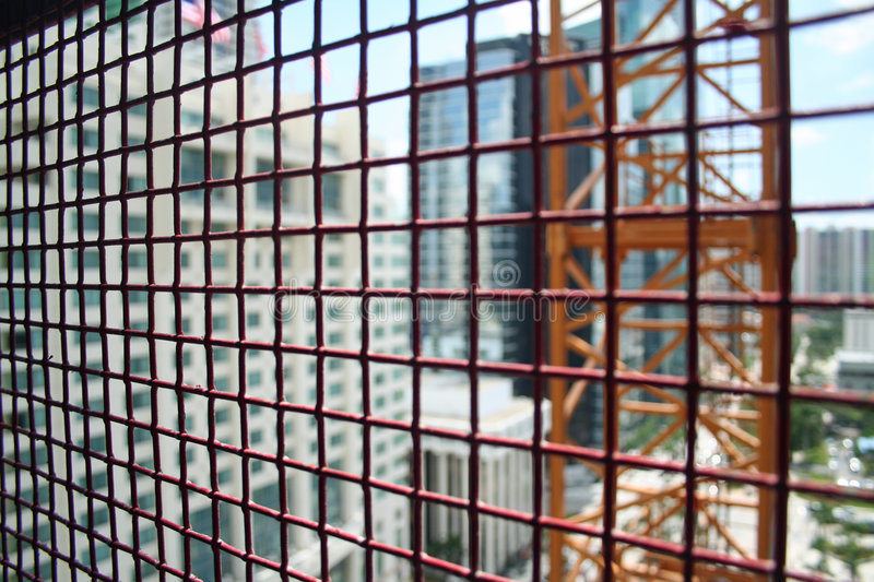Elevator Cage royalty free stock image