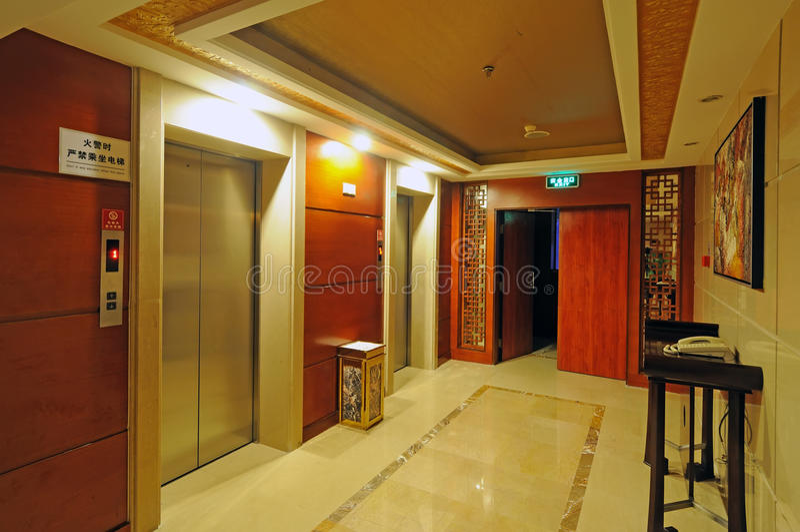 Elevator entrance