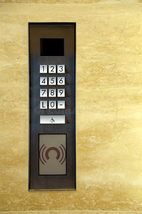 Elevator or lift buttons