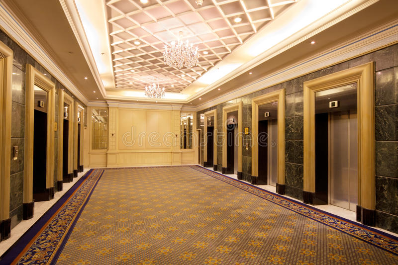 elevator lobby stock image image of doors downtown 18848513. Black Bedroom Furniture Sets. Home Design Ideas