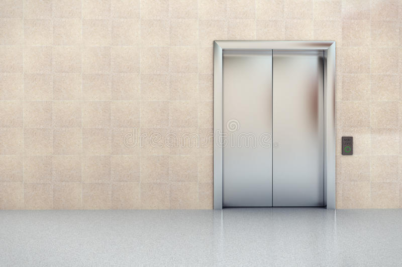 Elevator In Lobby Stock Images