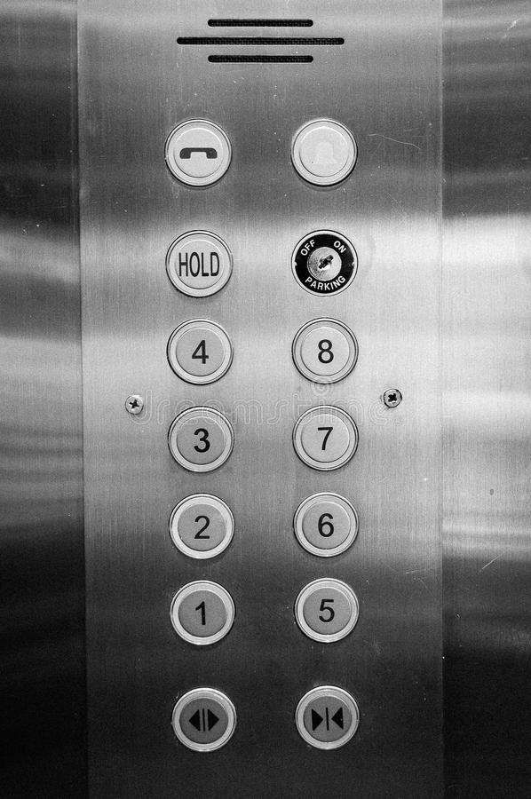 Free Elevator Panel Stock Image - 44209501