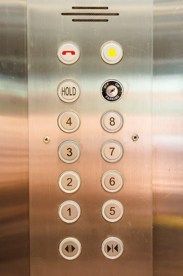 elevator panel stock illustration
