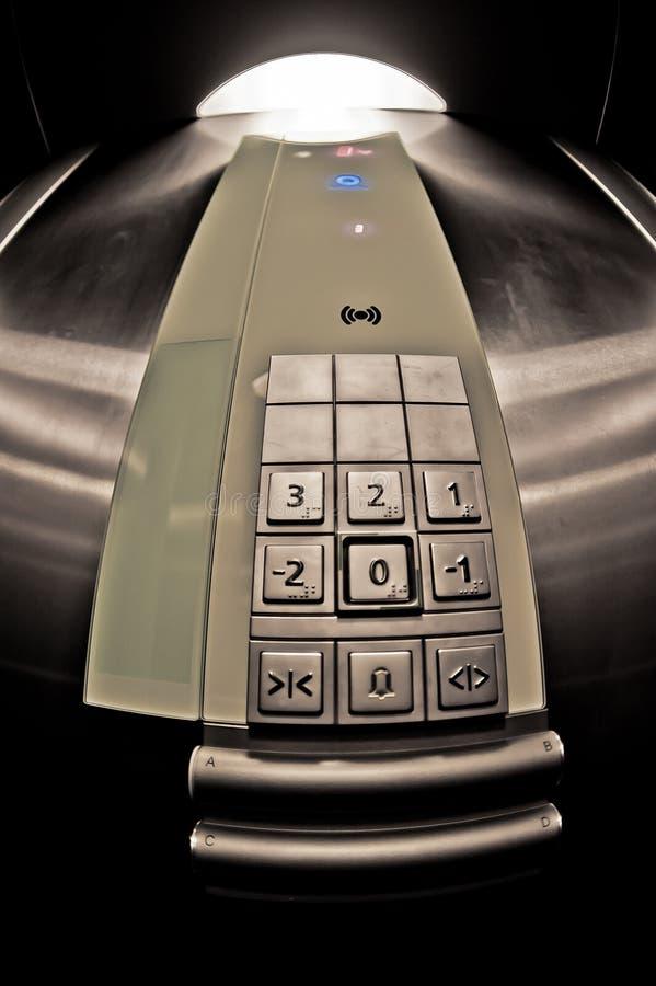Elevator - Panel Winda Royalty Free Stock Image