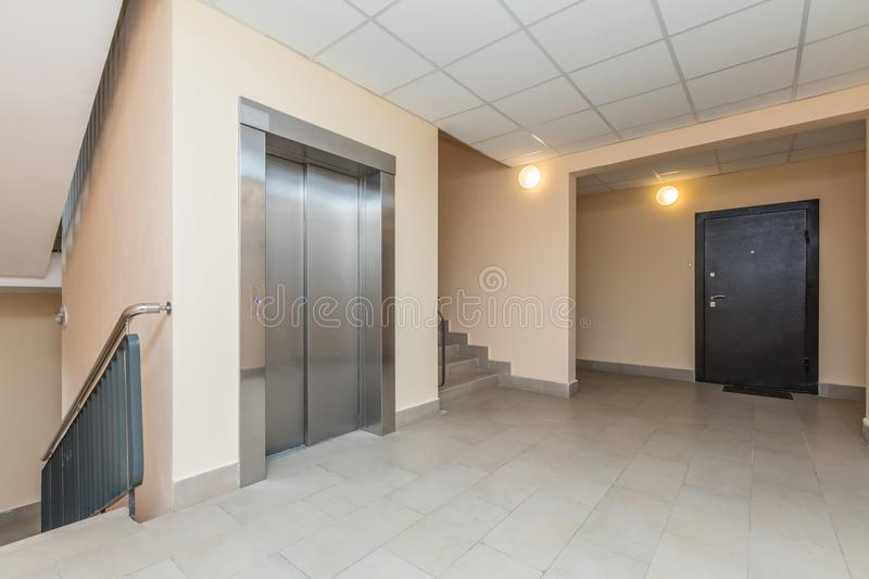 Download Elevator And Stairs Stock Image. Image Of Door, Lobby   103775765