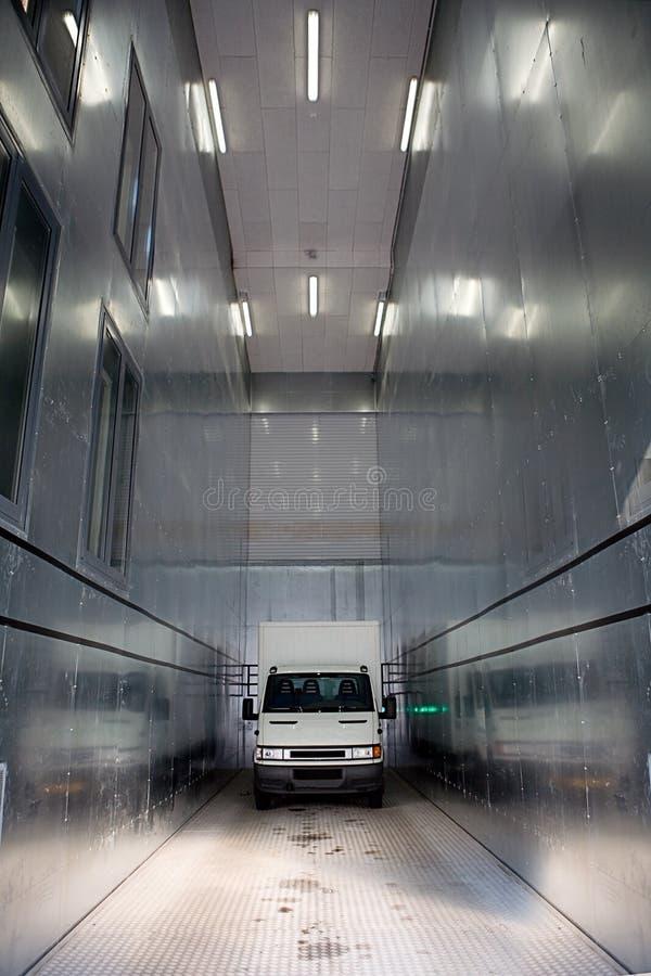 Elevatore del veicolo utilitario immagine stock libera da diritti