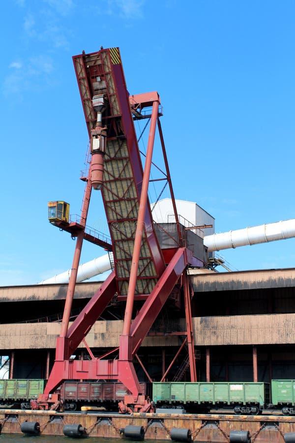 Elevatore industriale fotografia stock