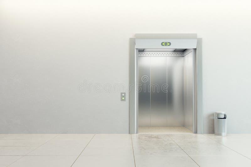 Elevatore moderno illustrazione vettoriale