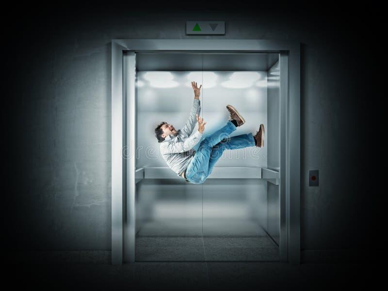 Elevatore spaventoso fotografie stock