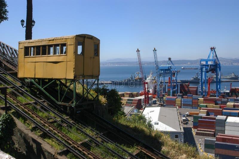Elevatori di Valparaiso fotografia stock