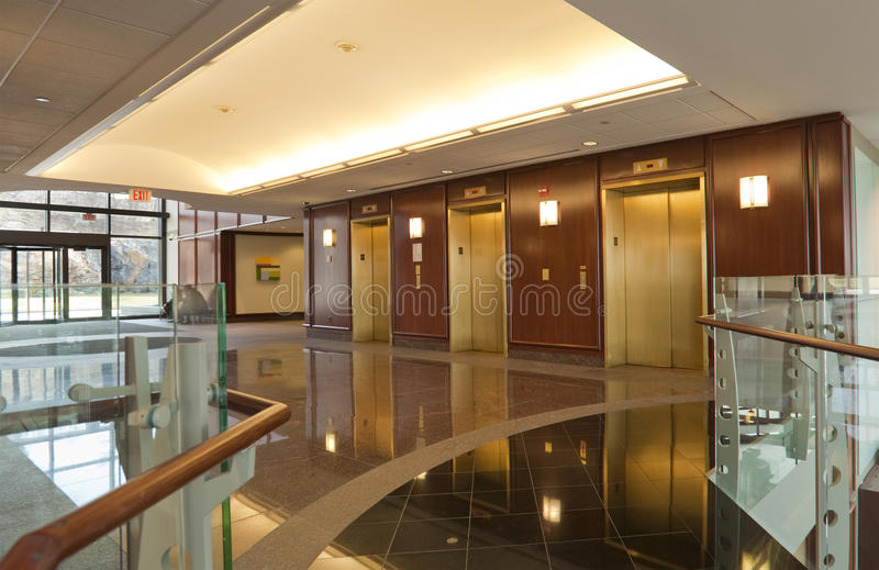 Download Elevators In Office Building Stock Image - Image: 18920843