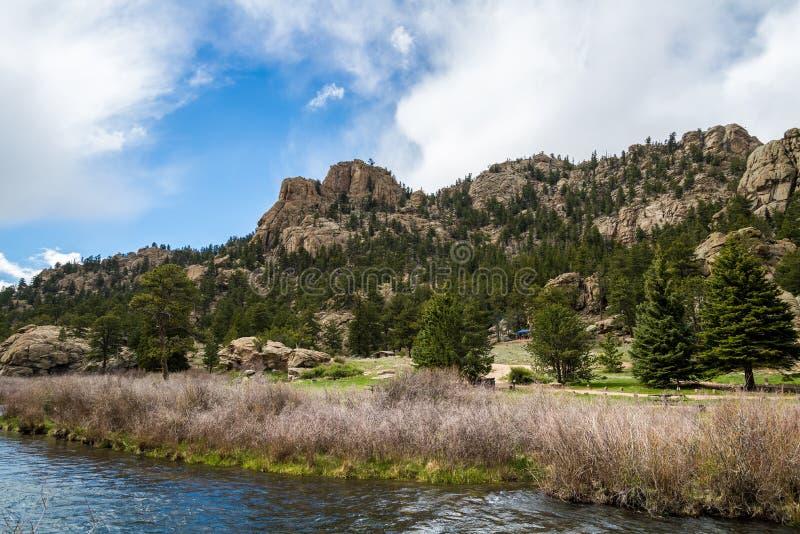 Eleven Mile Canyon Colorado royalty free stock image