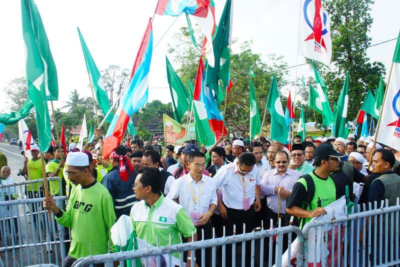 Elezione generale 2013 della Malesia fotografia stock