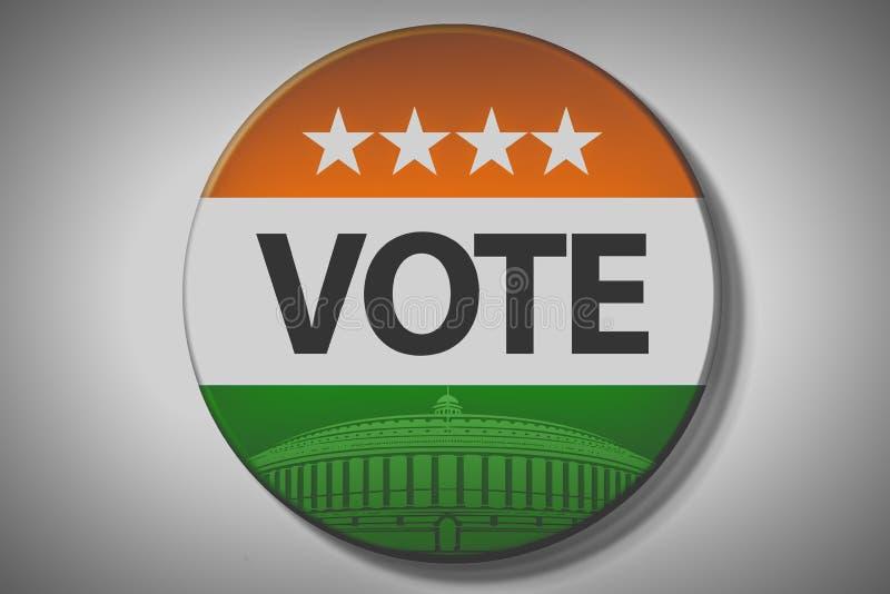 Elezioni dell'India illustrazione vettoriale