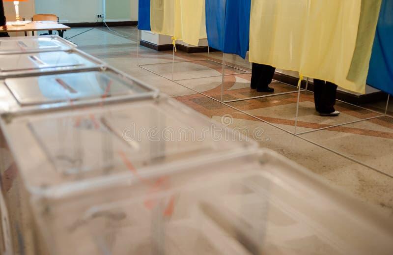 Elezioni locali in Ucraina fotografie stock