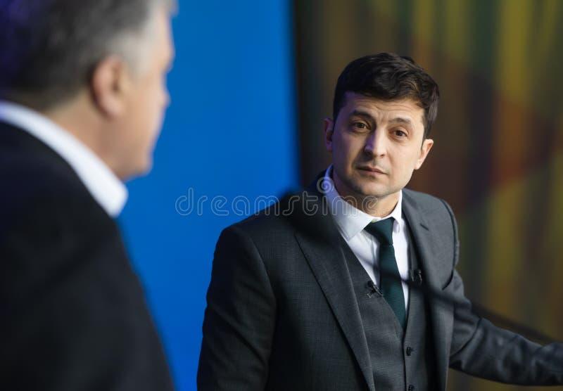 Elezioni presidenziali in Ucraina fotografia stock