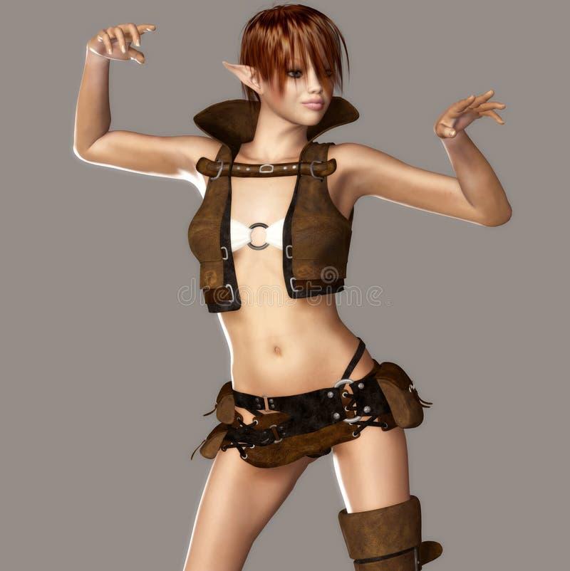 Download She Elf stock illustration. Illustration of artistic - 13320512