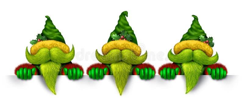 Elf Banner vector illustration