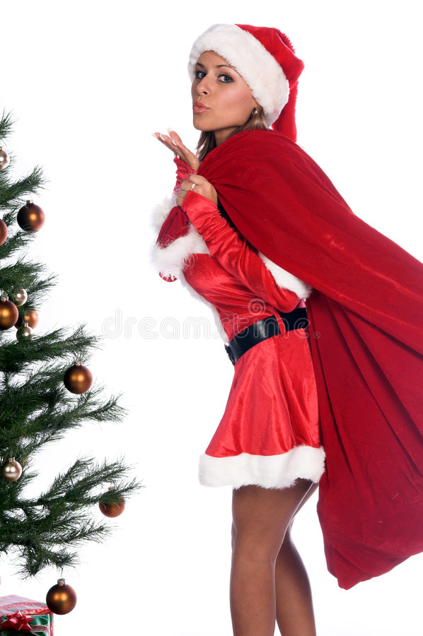 Download Elf Blowing Kiss Royalty Free Stock Images - Image: 1361709