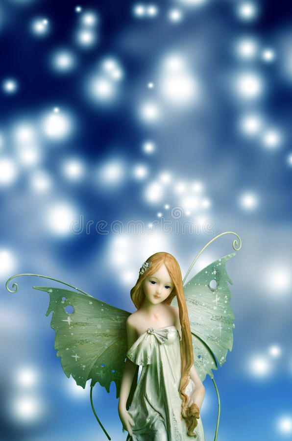 Elf fairy royalty free stock photography