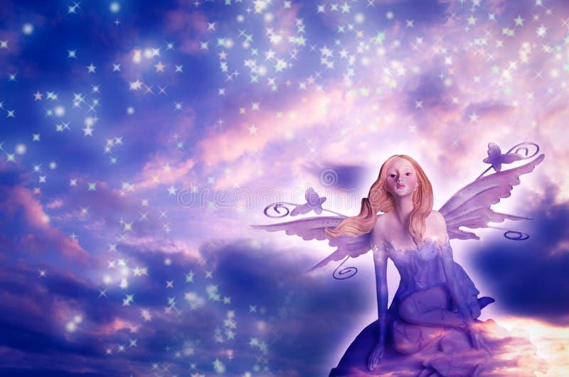 Download Elf fairy of dreams stock image. Image of pink, elfin - 11131707