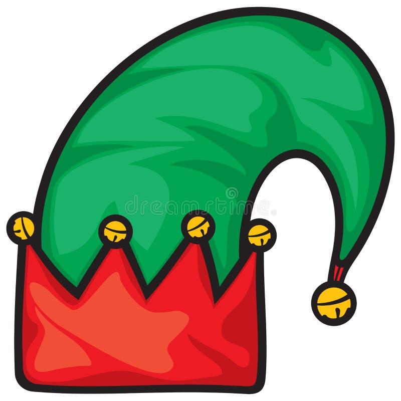 elf hat stock image image of christmas santa dwarf 35116089 rh dreamstime com Elf Hat with Two Ears Clip Art Elf Head Clip Art