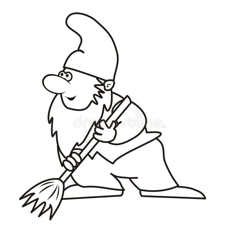 Elf i kolorystyka ilustracji