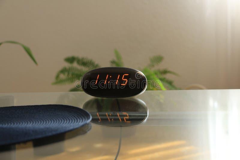 Elf oÂ'clock, tijd voor stock afbeeldingen