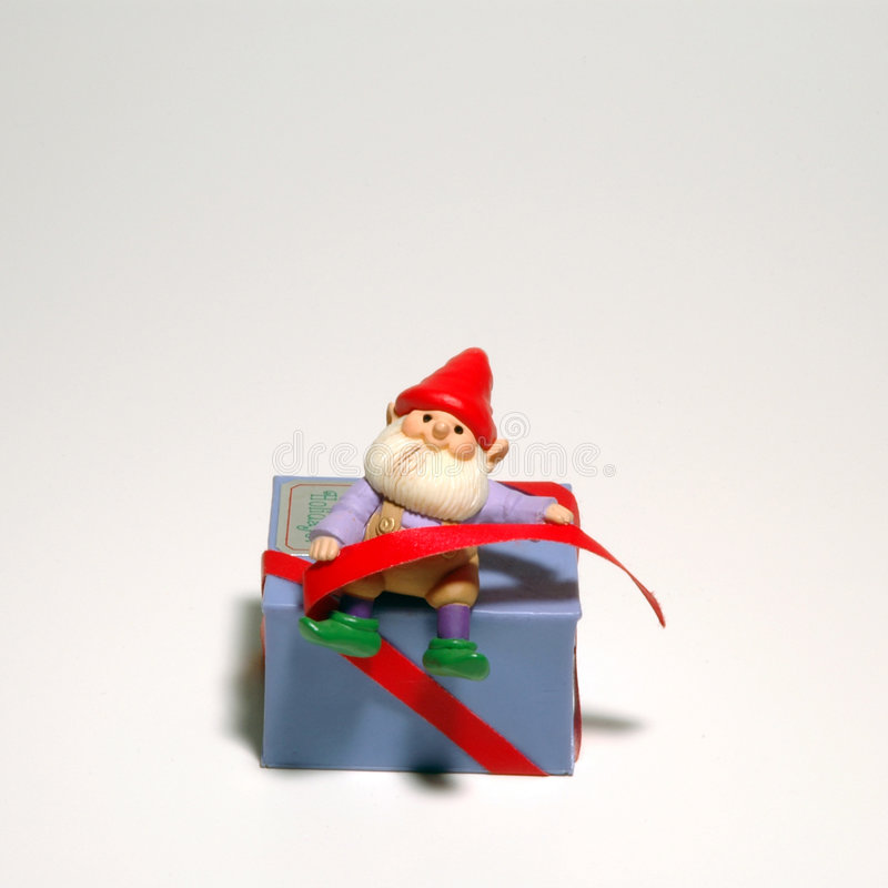 Elf Ornament royalty free stock photos