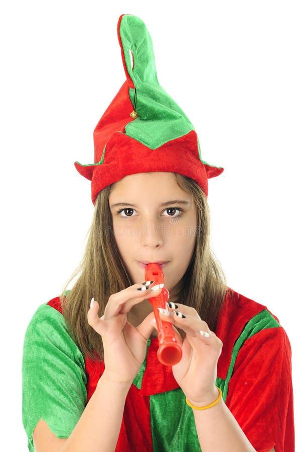 Elf Robi muzyce obrazy stock