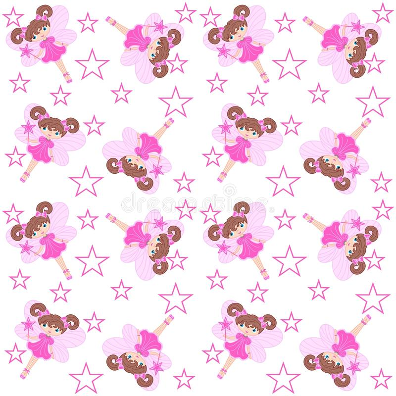 Download Elf seamless pattern stock vector. Image of colors, child - 14835988