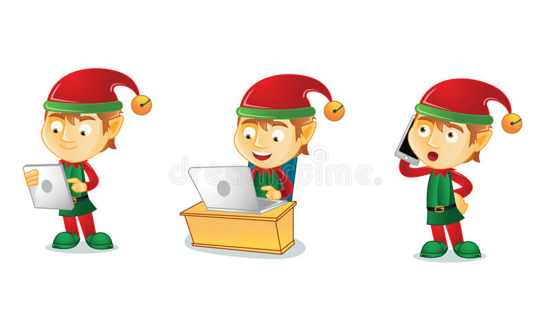 Elf 3. For your business stock illustration