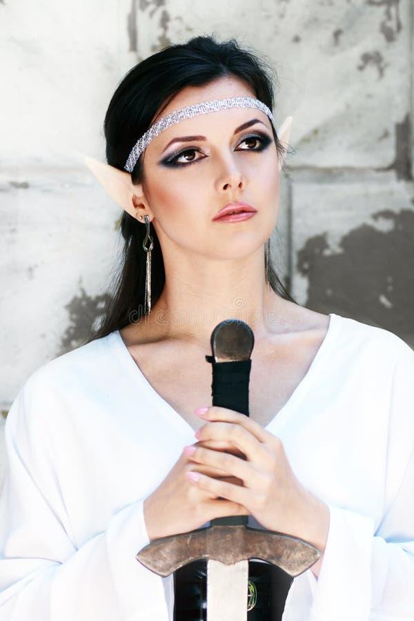 Elfa princess zdjęcie royalty free