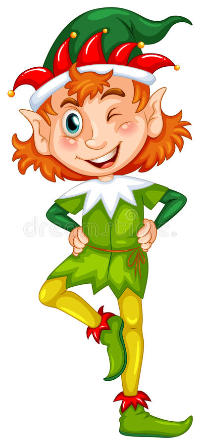elfe illustration stock