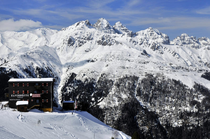 Download Elferhutte in Stubai Alps editorial image. Image of roof - 35688685