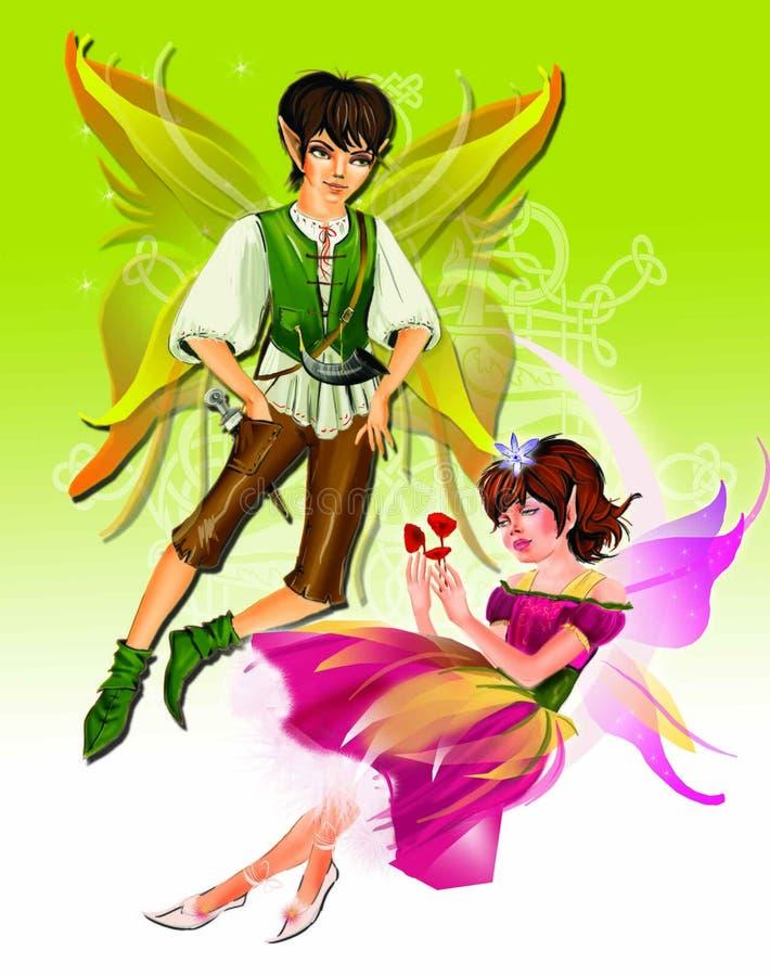 elfes ilustracja wektor