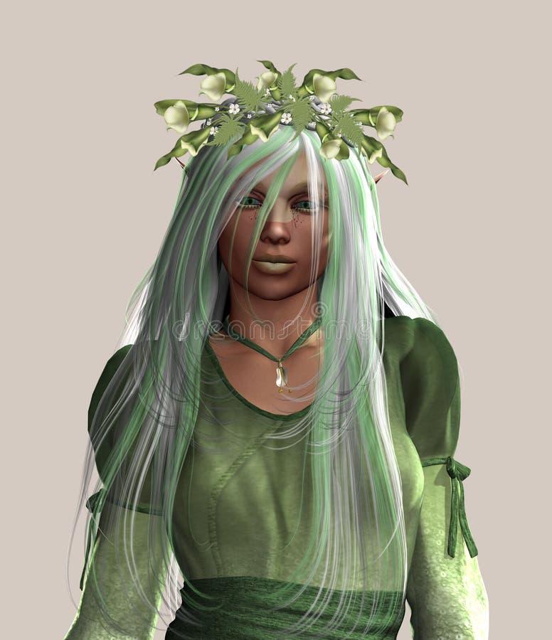 elfin богина бесплатная иллюстрация