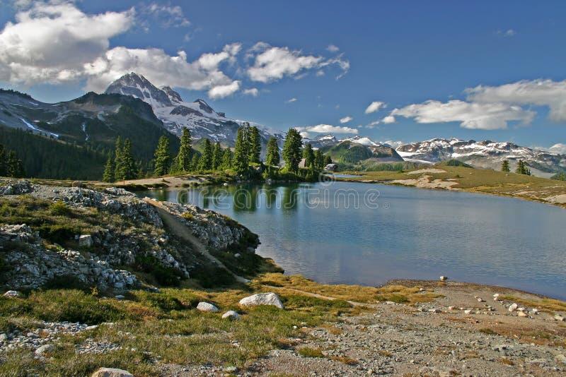 elfin lake royaltyfria bilder
