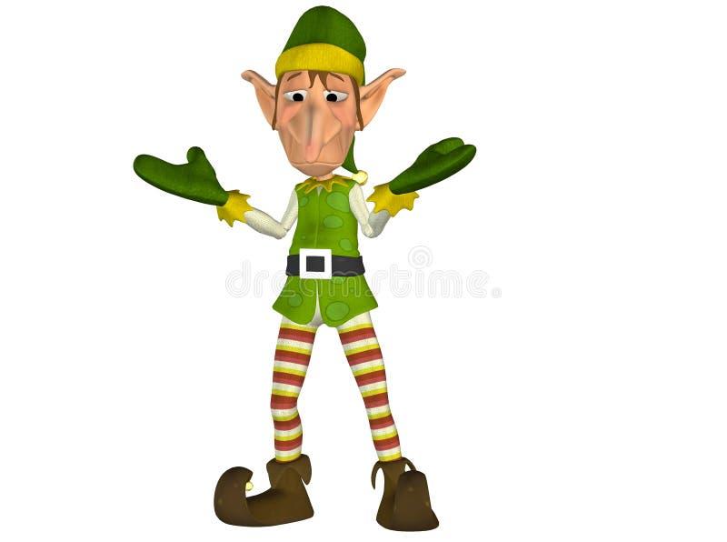 Elfo. 3 royalty illustrazione gratis