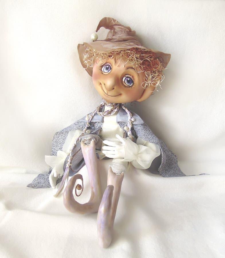 Elfo congiunto del fatato della bambola immagine stock