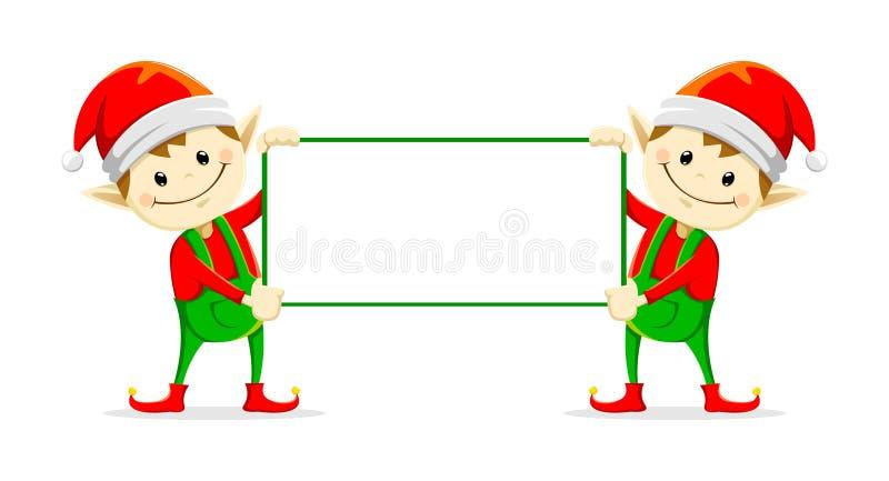 Elfs di Natale royalty illustrazione gratis
