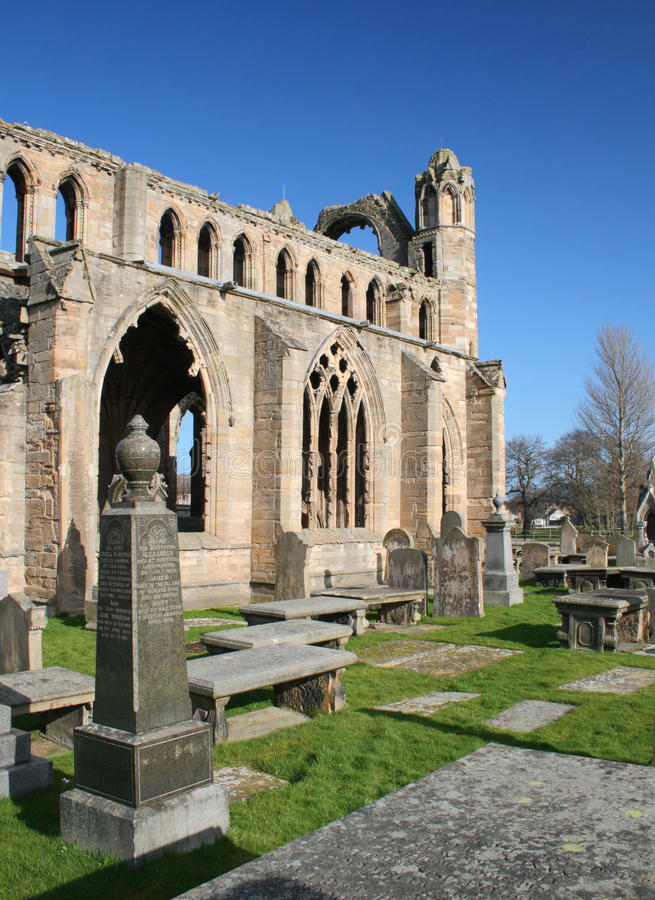 Download Elgin Cathedral stock photo. Image of building, church - 18572232
